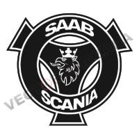 Scania Saab Car Logo Vector