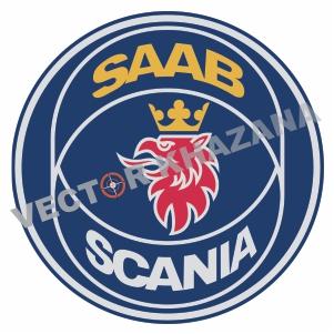 Saab Scania Car Logo Svg Download