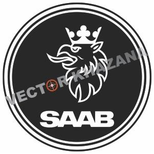 Saab Scania  Car Logo Svg