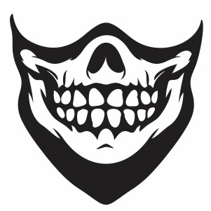 Skull Teeth Svg