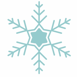 christmas star snowflake svg cut