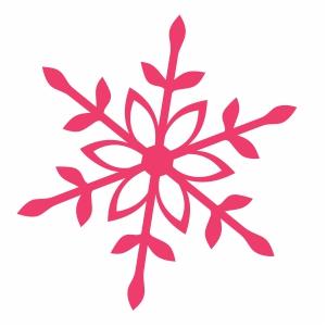 snowflake christmas svg cut file