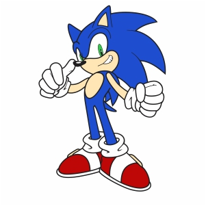 Sonic The Hedgehog Vector Sonic Cartoon Vector Image Svg Psd Png Eps Ai Format Vector Graphic Arts Downloads