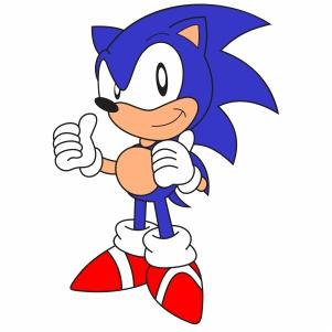 sonic the hedgehog logo svg