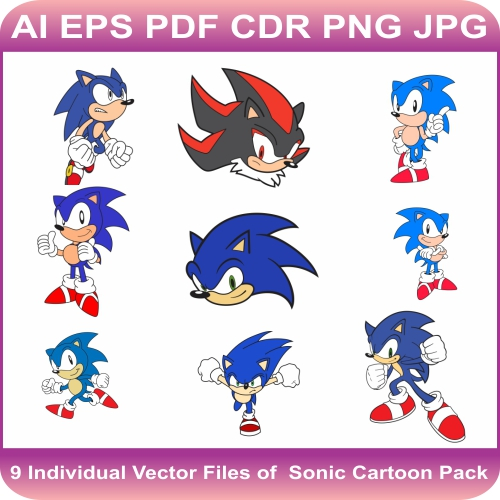 Sonic the Hedgehog Vector Bundle