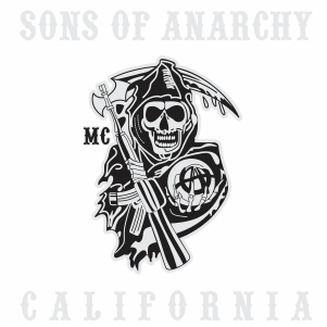 sons Of Anarchy california logo vector file