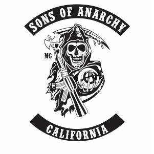 sons of anarchy california vector file