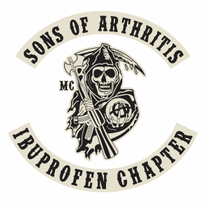 Sons Of Arthritis Ibuprofen Chapter vector file