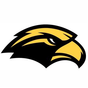 Southern Miss Golden Eagles logo vector image