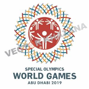 Special Olympics Games AD 2019 Logo Vector