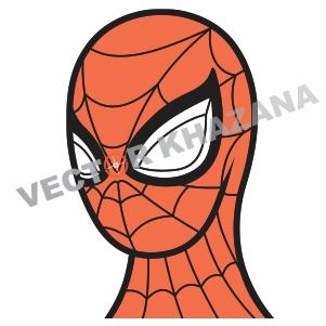 Spider Man Head Vector