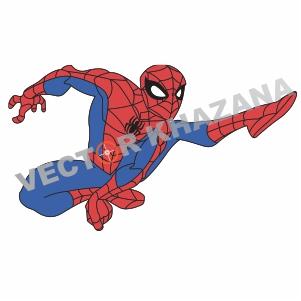 Hero Spiderman  Vector