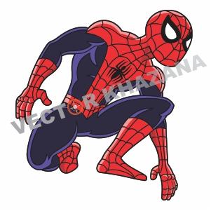 SpiderMan Cartoon Vector