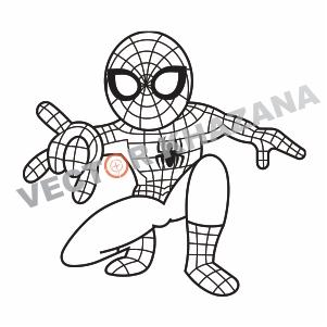 Spider Man Logo Vector