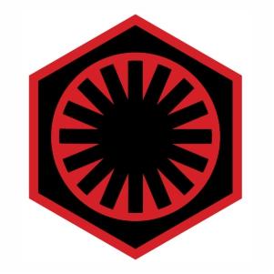 Star Wars First Order Symbol svg