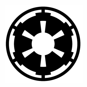 Galactic Empire Symbol svg cut