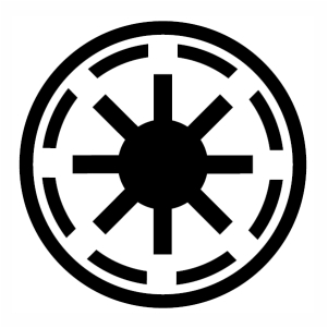 Star Wars Galactic Republic Symbol svg