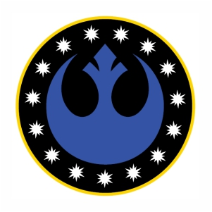 star wars new republic symbol svg cut
