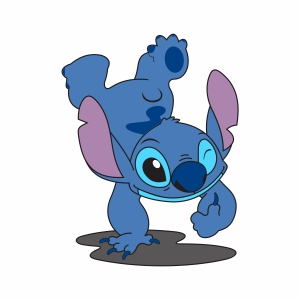 Stitch Disney Character vector