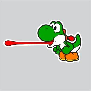 Yosh Tongue Svg Yoshi Super Mario Bros Svg Cut File Download Jpg Png Svg Cdr Ai Pdf Eps Dxf Format