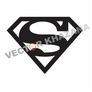 Superman Logo Outline Vector