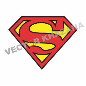Superman Symbol Vector