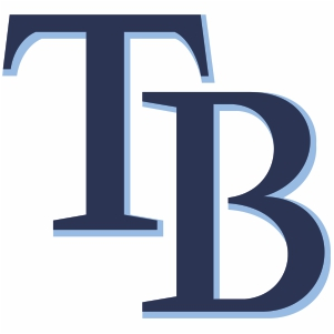Tampa Bay Rays TB Logo Vector