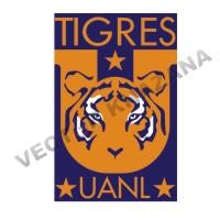 Tigers Uanl Logo Vector