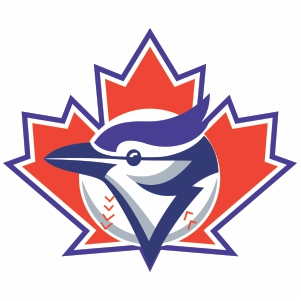 Toronto Blue Jays Batting Logo Svg