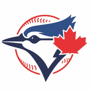 Toronto Blue Jays Ball Logo Cut