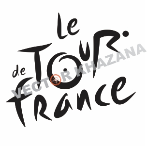 Le Tour de France Logo Vector
