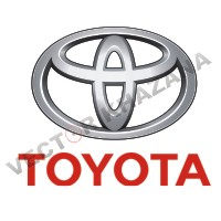 Toyota Car Logo Vector