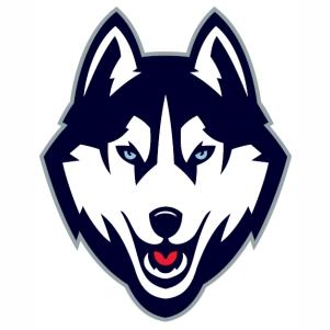 Uconn Huskies logo vector file