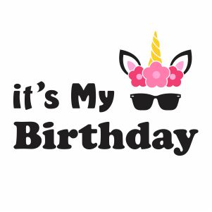 Its My 1st Birthday Png