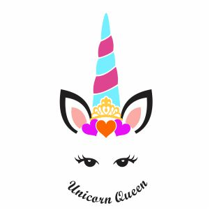 Unicorn Valentine Svg