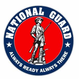 US National Guard Logo Vector