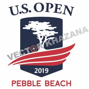 U.S. Open Pebble Beach Logo Vector