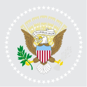Usa President Flag Vector