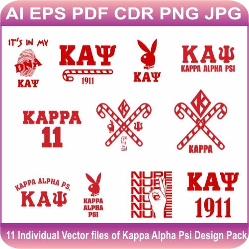 Kappa Alpha Psi Pack Vector
