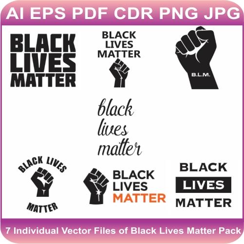 Black Lives Matter Vector Bundle