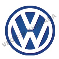 Volkswagen Car Logo Vector