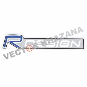 Volvo R Design Logo Svg