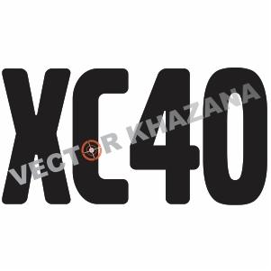 Volvo XC40 Logo Svg