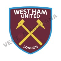 West Ham United F.C Logo Vector