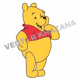 Winnie Pooh Logo Vector