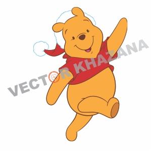 Winnie The  Pooh Logo Vector