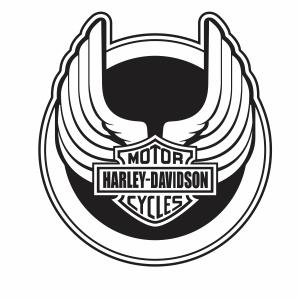 wisconsin harley davidson logo vector