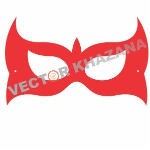 Wolverine Mask Logo Vector