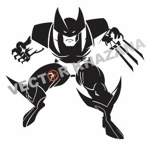 Wolverine X Men Logo Vector