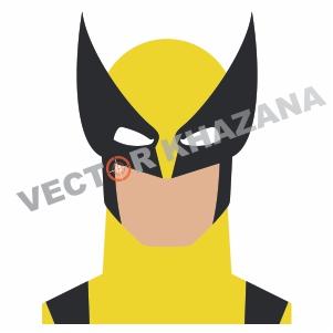 Wolverine Face Logo Vector